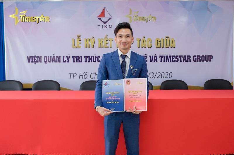 Time Star Group ký hợp đồng với hai tổ chức uy tín phát triển Ngành Làm đẹp