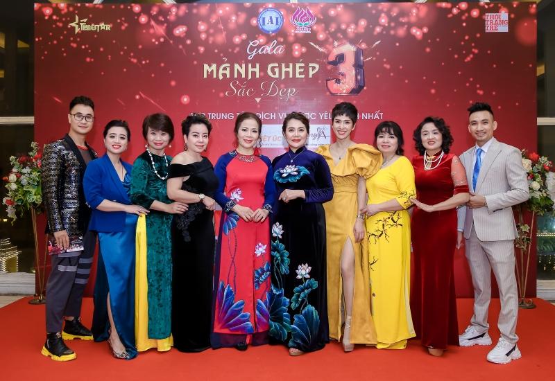 Gala mảnh ghép sắc đẹp 3 - Lễ tổng kết cuối năm 2019 Liên Hiệp Spa Thẩm mỹ Việt Nam
