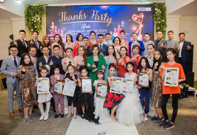 Thanks Party Gala Tôn vinh sắc đẹp Quốc tế 2019